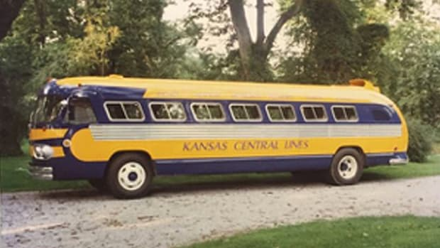 Kansas Central Lines Bus