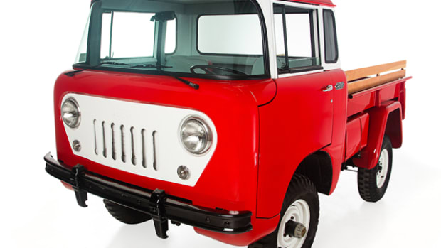Omix-ADA has added a 1959 Jeep FC-150 (above) and a 1978 Jeep J-10 (below) to their corporate collection in Suwannee, Georgia. Photo Credit: Omix-ADA