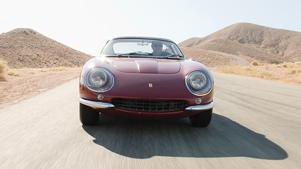 Steve McQueen's Ferrari 275GTB/4 now on display at the Petersen Automotive Museum in Los Angeles.