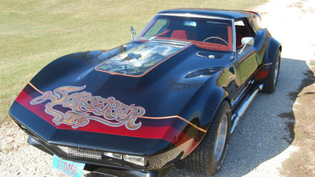 Experience the glory of the '70s in Corvette form