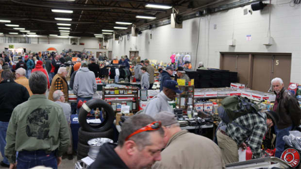 The crowd was steady at Carlisle Event's Auto Mania.