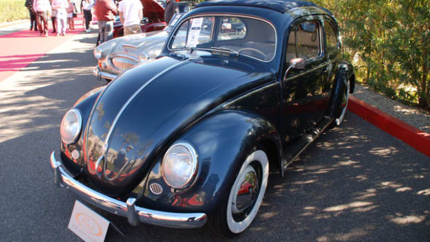One of our favorites at RM's Arizona Biltmore sale was this 1953 Volkswagen selling for a strong $60,000 bid.