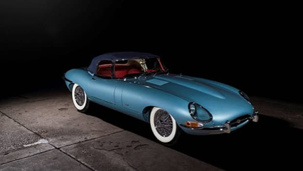 1961 Jaguar E-Type Series 1 3.8-Litre Roadster (Credit – © 2020 Courtesy of RM Auctions)