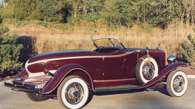 """Prices for """"Blue Chip"""" cars such as Auburn Speedsters remain strong."""