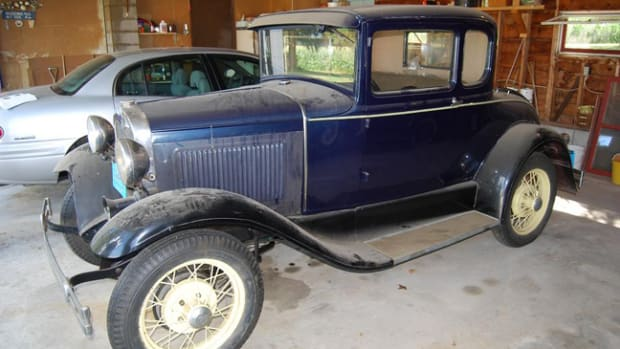 1930 Model A For five-window coupe.