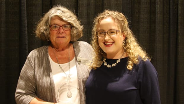 Pictured from left to right: Sue Bauermeister; Paula Busse, Visitor Experience Manager and Volunteer Coordinator