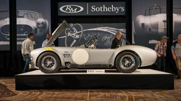 The top-selling1966 Shelby 427 Cobra 'Semi-Competition' shines at RM Sotheby's Arizona selling for $2,947,500.