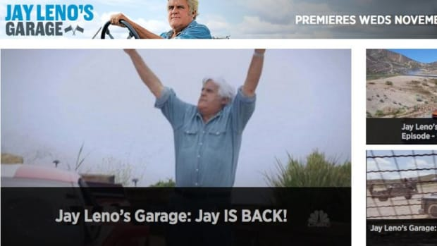 The next episode of Jay Leno's Garage will feature a Biden vs. Powell show down drag race.