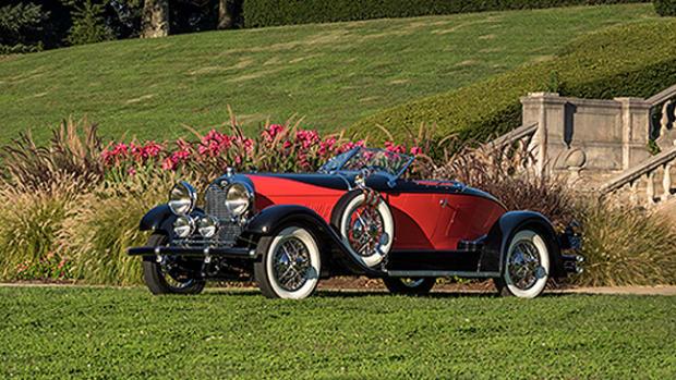 1928 Auburn 8-88 Speedster. Image courtesy of Gary Kessler Photography