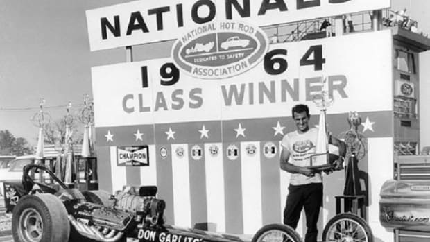 "Don ""Big Daddy"" Garlits Dragster 1964 NHRA Nationals Class Winner."