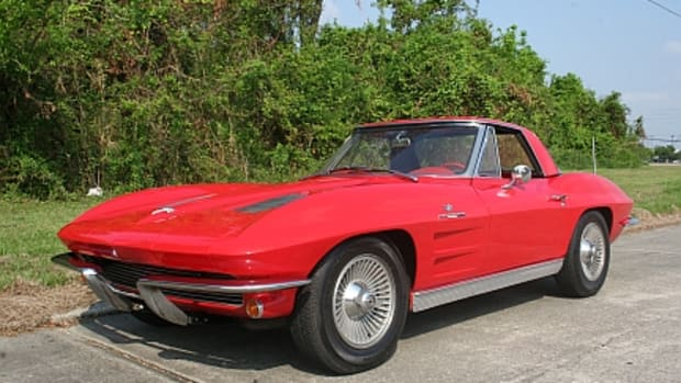 The 1963 Chevrolet Corvette Sting Ray Pilot Car No. 16 to be offered by Vicari.