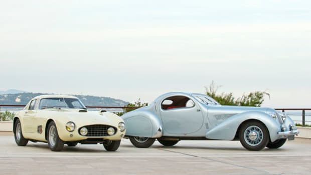 RM Auctions to offer 1938 Talbot-Lago and 1955 Ferrari 410 coupe at Monterey.