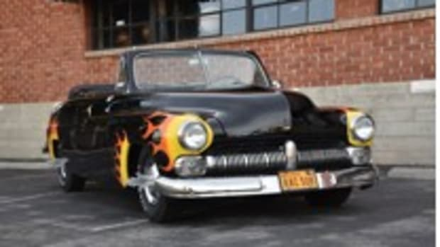 "The Hells Chariot 1949 Mercury convertible from the film ""Grease"""