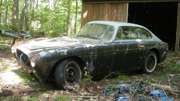 952 Barn Find Cunningham C-3 Coupe #5209 from the collection of the late Harry H. Sefried II.