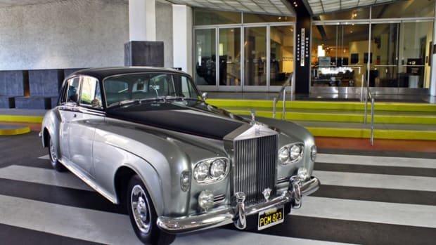 This 1963 Rolls-Royce Silver Cloud III is the latest in a long line of vehicle donations in the Petersen Automotive Museum.