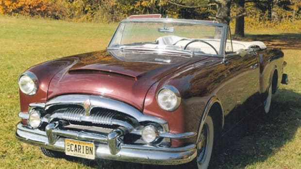 Packard's '53 Caribbean convertible was a specialty model.