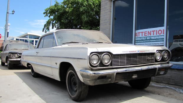 1964 Chevrolet Impala two-door hardtop that sold at the Lambrecht Chevrolet auction last September in Pierce, Neb.