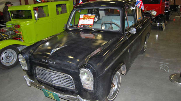 This 1959 Anglia was at the 2014 Milwaukee World of Wheels.