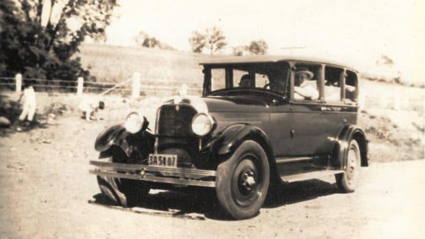 Carol's Grandpa's car