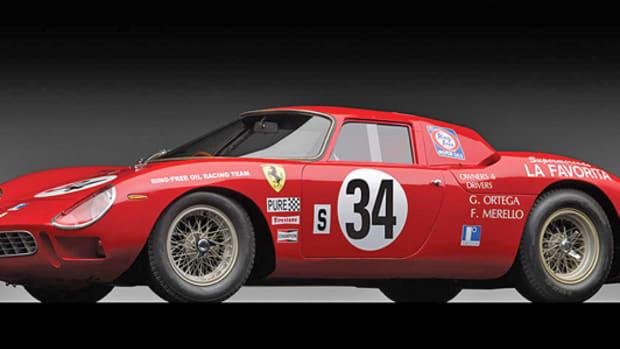 1964 Ferrari 250 LM by Carrozzeria Scaglietti, sold for $14,300,000.
