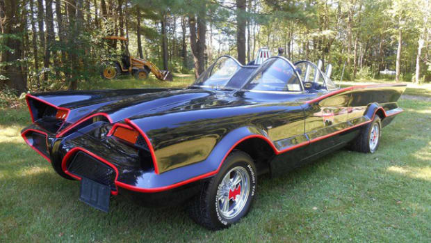 1966 Batmobile Replica (photo credit: Saratoga Automobile Museum
