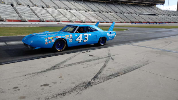 The Petty Superbird courtesy of Carlisle Events.