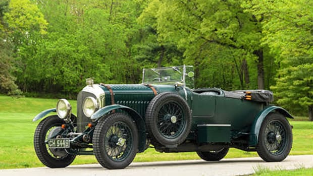 1930 4 ½-Litre Sports Tourer. Photo - Bonhams