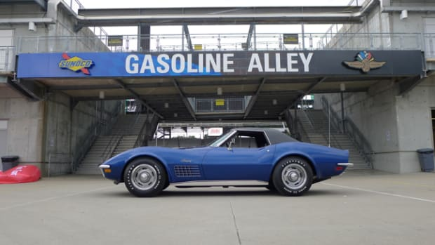 1972 Corvette 350 (slash) 200 Convertible - Bloomington Gold Benchmark, June 2018 - Steve and Wendy Burns, Michigan. Photo - Carlisle Events