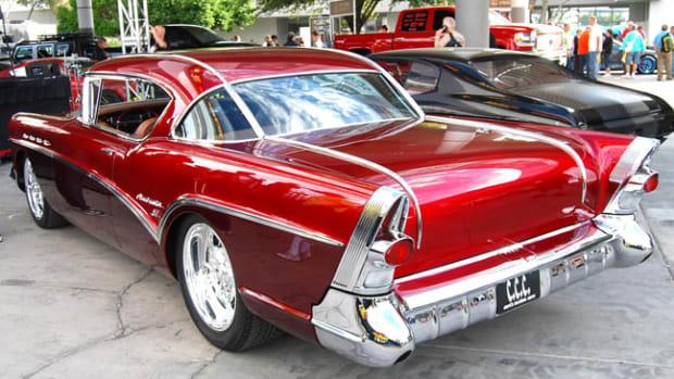 This slightly customized '57 Buick Roadmaster in the SEMA Car Crazy TV Showcase brought back memories of Jesse's Century sedan.