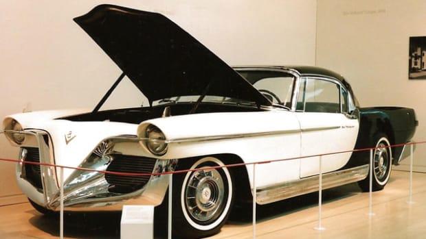 1956 Valkyrie on display.