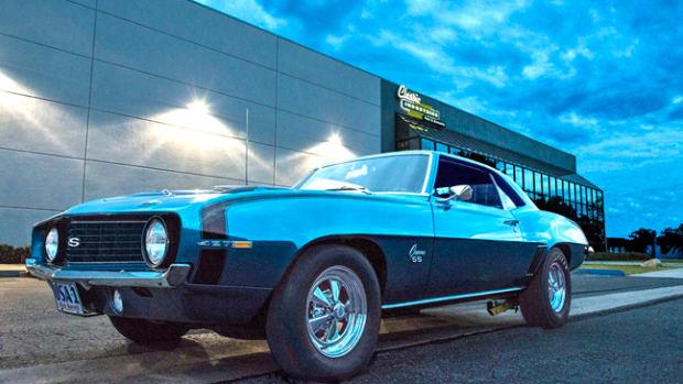 Dick Harrell's 1969 427 Camaro.