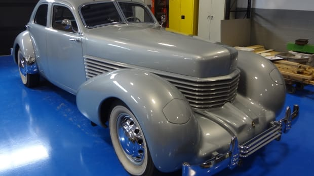 Josh Malks Cord 810 Westchester sedan has been donated to the ACD Automobile Museum.