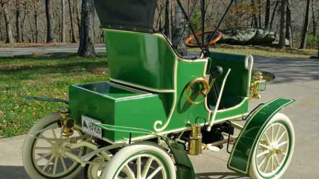 1907 Jewel Stanhope Model Runabout