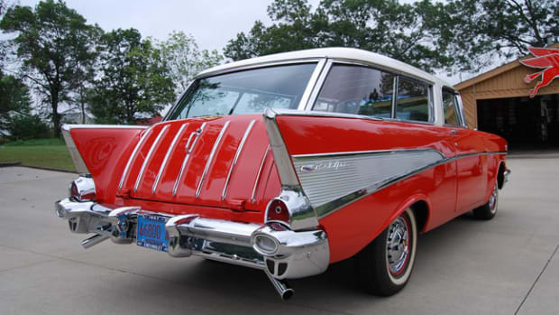 This 1957 Nomad was a good buy and a great investment.