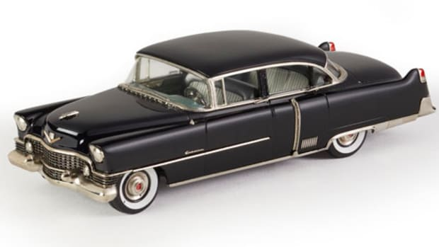 Brooklin's new 1954 Cadillac Fleetwood Sixty Special.