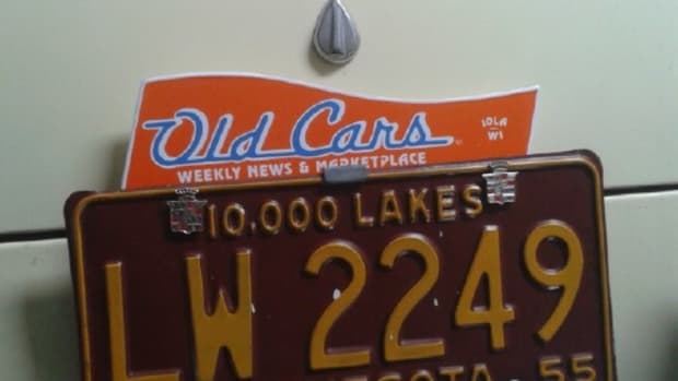 Old Cars License Topper