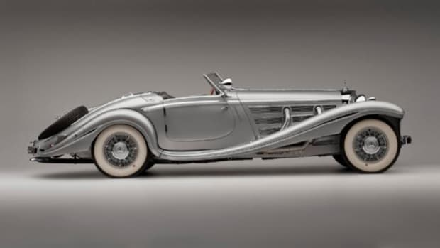 1936 Mercedes-Benz 500K Special. Photo Courtesy of National Automobile Museum (The Harrah Collection)
