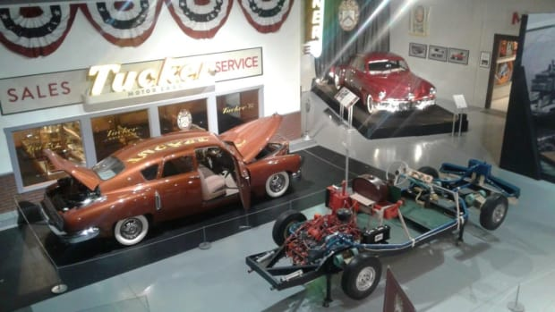 The Tucker Automobile Club of America has become a membership category of the AACA Museum in Hershey, Pa.