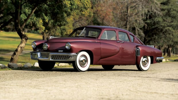 The 1948 Tucker formerly owned by George Lucas and to be offered during RM Auctions' Amelia Island sale.