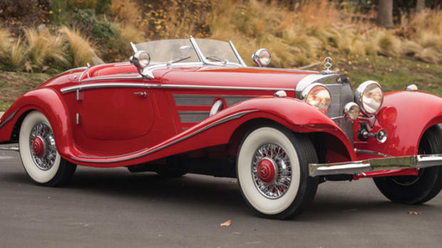 1936 Mercedes 540K - photo RM-Sothebys
