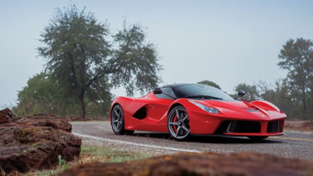 The 53-mile 2014 Ferrari LaFerrari offered in RM Sotheby's ICONS sale, December 6 (Credit – Theo Civitello © 2017 Courtesy of RM Sotheby's)