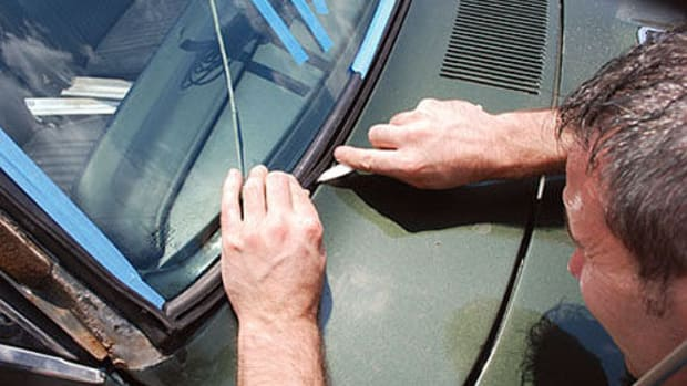 Installing Windshield