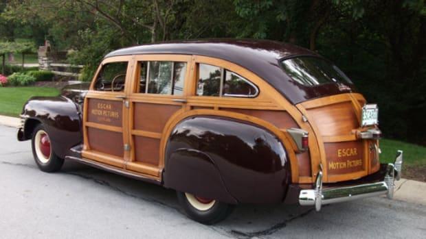 1942 Chrysler Town and Country six-passenger sedan
