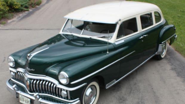 1950 De Soto Custom sedan