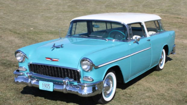 1955 Chevrolet Nomad Blue
