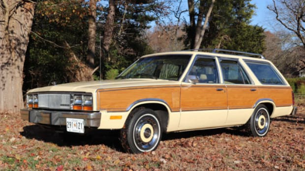 1980 Mercury Zephyr Villager station wagon