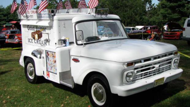 1966 Ford Good Humor Ice Cream Truck