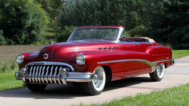1950 Buick custom convertible sedan
