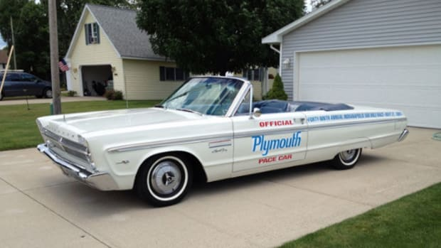 1965 Plymouth Sport Fury Indy Pace Car