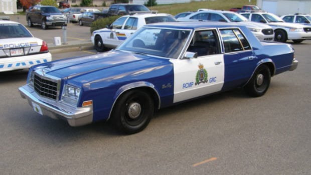 1980 Plymouth Gran Fury police car